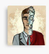 Two-face Canvas Print