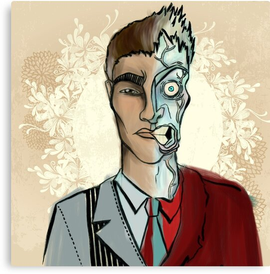 Two-face by Zsuzsa Goodyer