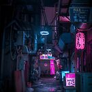 Dark City vibes in Tokyo by Guillaume Marcotte