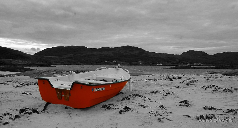 Sanna Cove: The Red Boat by James Stevens