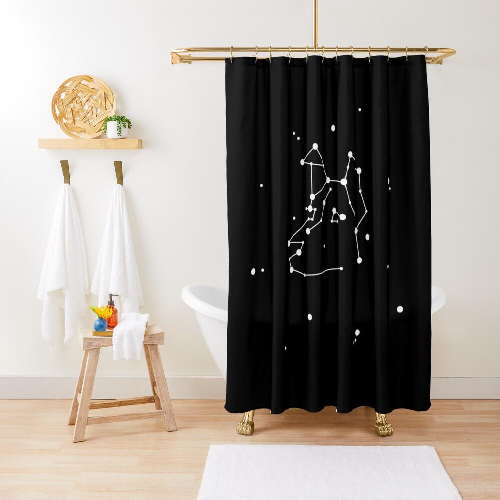 Laika. Shower Curtain