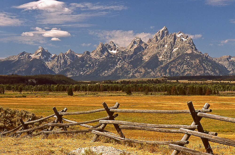 The Grand Tetons by Joe Elliott
