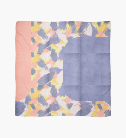 Messy Painted Tiles 01 #redbubble #midmod Scarf
