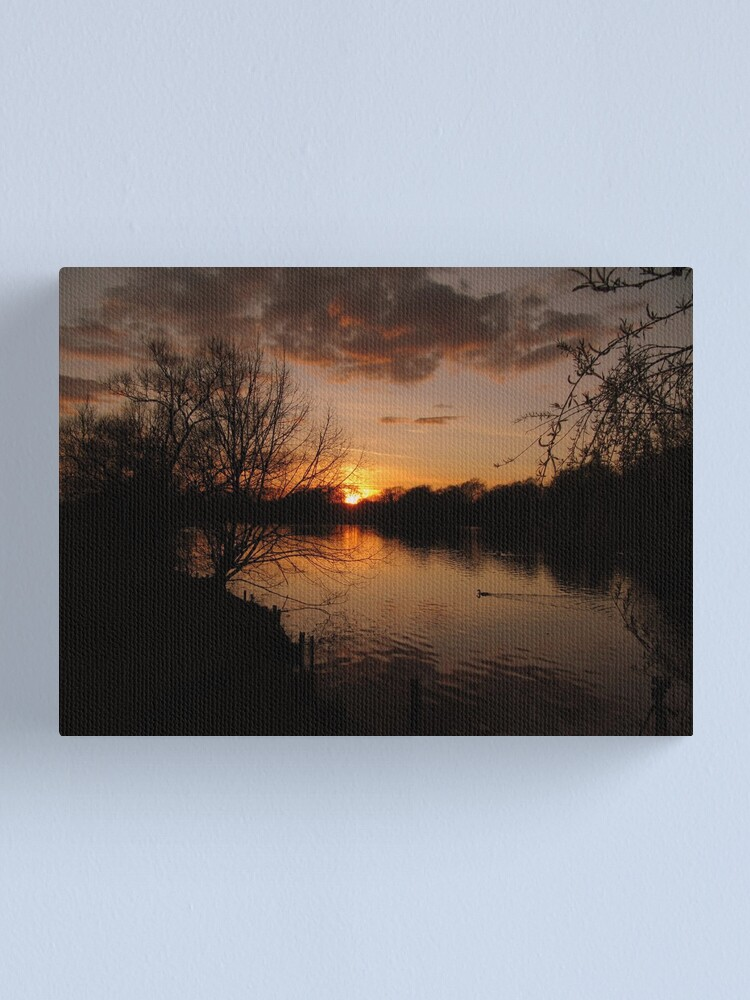 Alternate view of Park Sunset Canvas Print