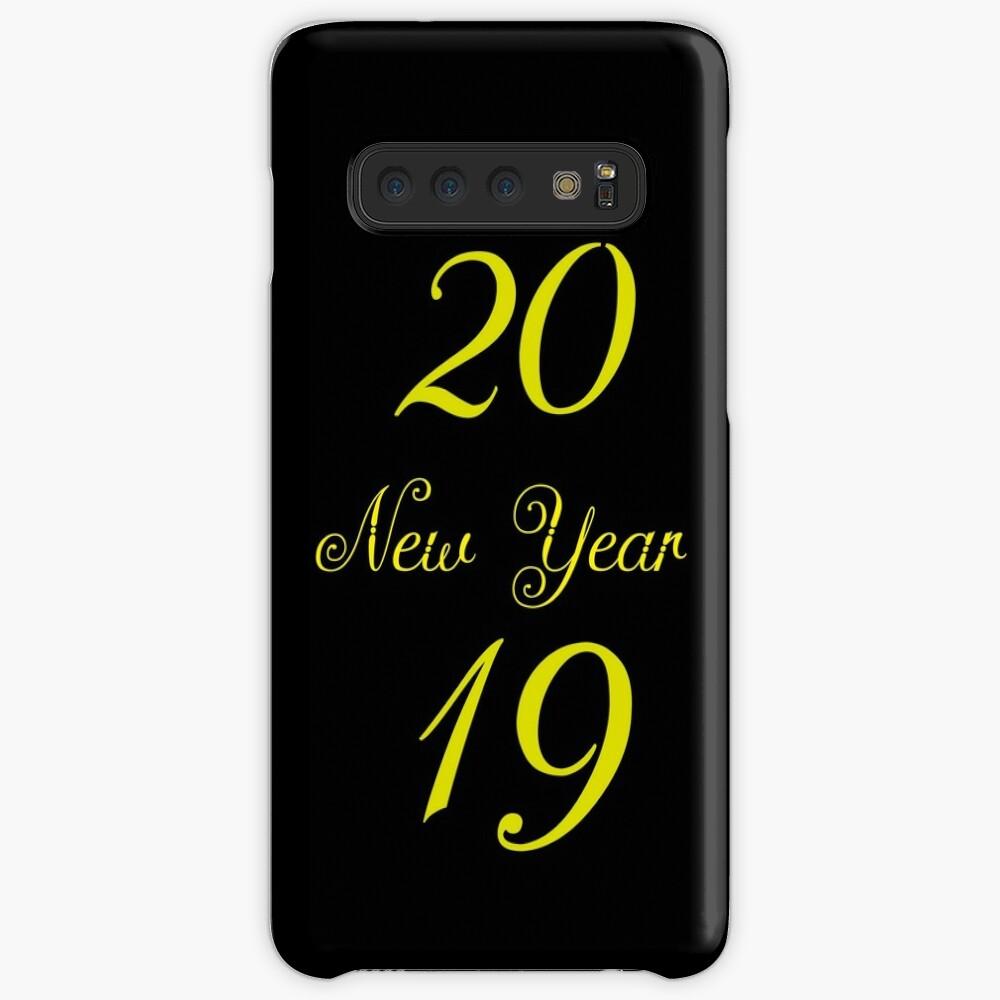 20 New Year 19 Hülle & Klebefolie für Samsung Galaxy