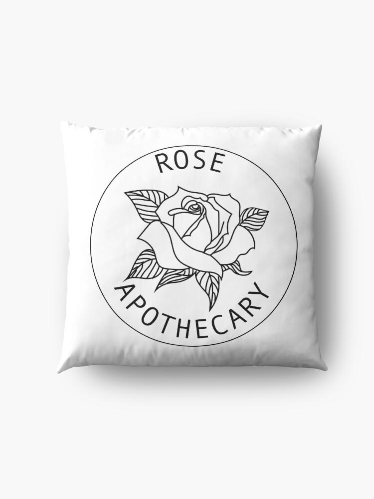 Alternate view of Rose Apothecary - White Floor Pillow