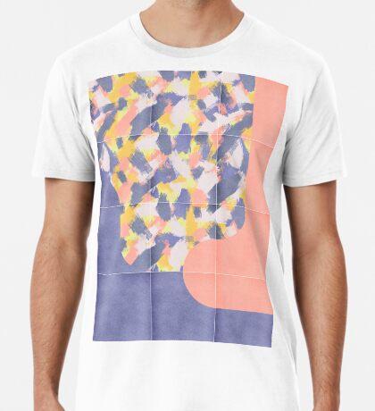 Messy Painted Tiles 03 #redbubble #midmod Premium T-Shirt