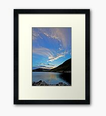 @ @ @  Fiord landscape - Harbak - Norway .Brown Sugar. Views (220) favorited by (5) thanks  ! Framed Print