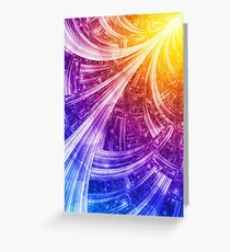 Extroversion Greeting Card