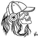 Hand REZZ Gesicht Logo PIC von daviide