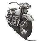1948 Harley WL by Nori Bucci
