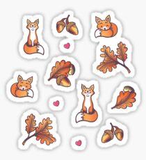 Foxy Dreams Sticker