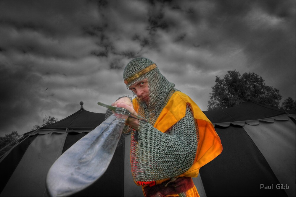 Robert the Bruce and the sword by Paul  Gibb