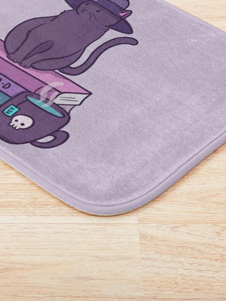Alternate view of Feline Familiar Bath Mat