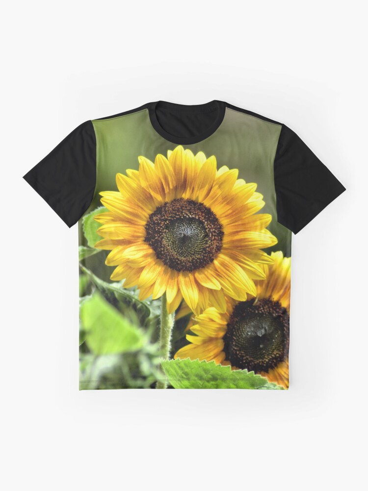 Alternate view of Sunflowers Graphic T-Shirt