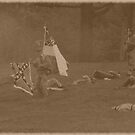 Civil War Reenactment by Karl R. Martin