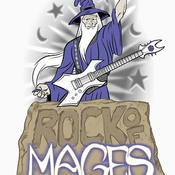 Rock of Mages by darthapo