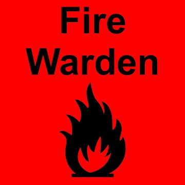 Fire Warden by Exit Incorporated by LeeWilson