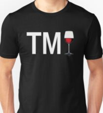 TM Wine (White Ink/Red Wine) T-Shirt