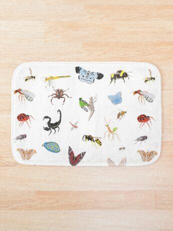 Bugs Bath Mat
