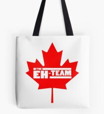 Eh team canada maple leaf geek funny nerd Tote Bag