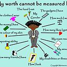 My worth cannot be measured by F by martisanne