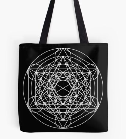 Metatron's Cube Expanded 001 Tote Bag