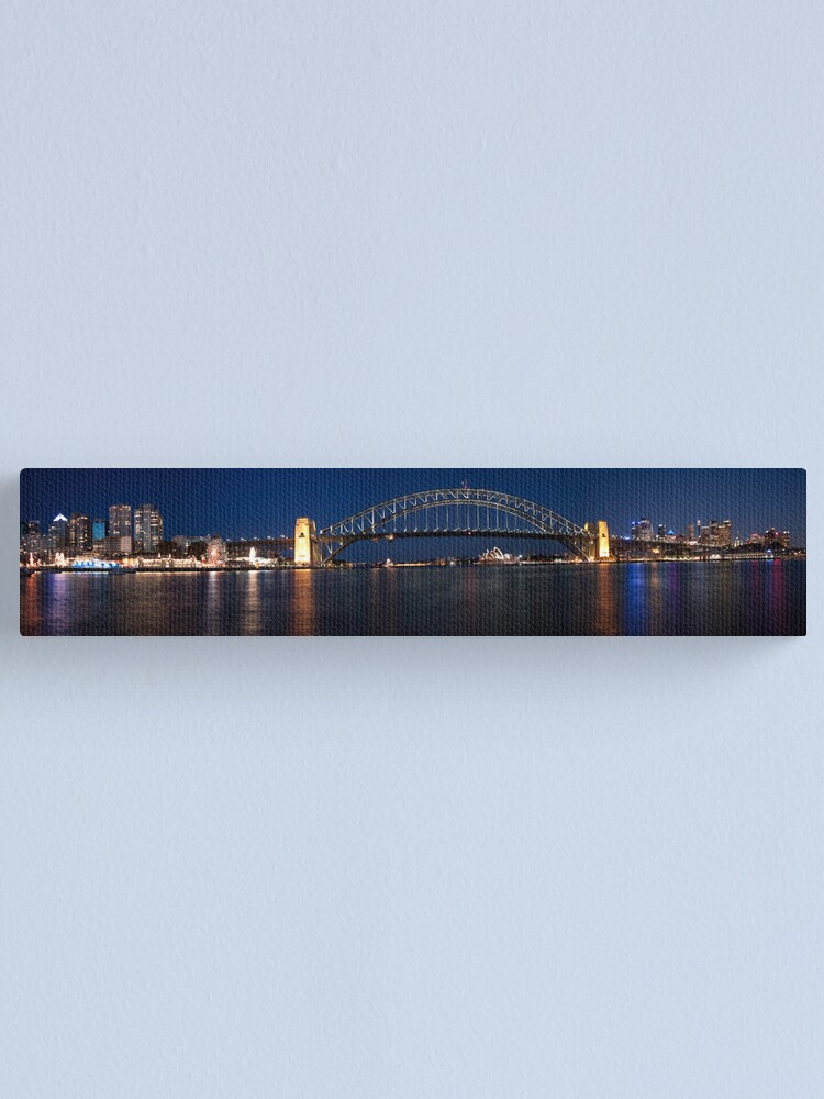 Alternate view of Sydney by Night. Canvas Print