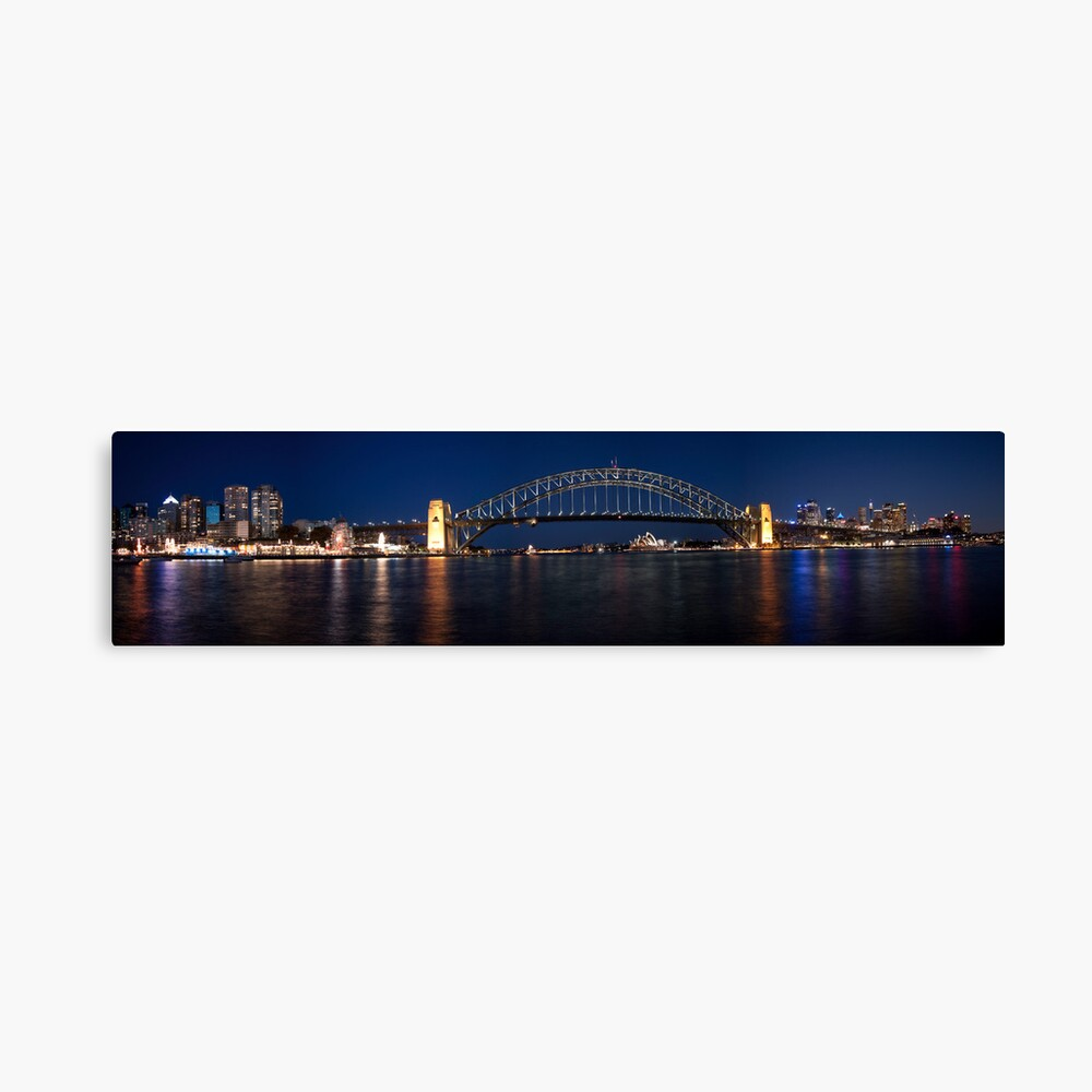 Sydney by Night. Canvas Print
