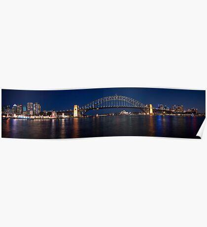 Sydney by Night. Poster