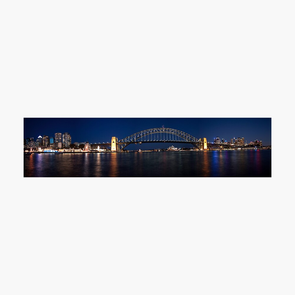 Sydney by Night. Photographic Print