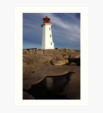 Late Afternoon - Peggys Cove Art Print