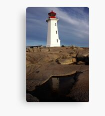 Late Afternoon - Peggys Cove Canvas Print