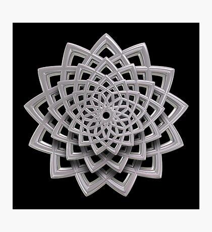 3D Spiral 02 Photographic Print