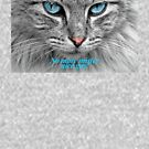 """Cat Shirt, """"No more mister nice guy"""" by M. I. Speer"""