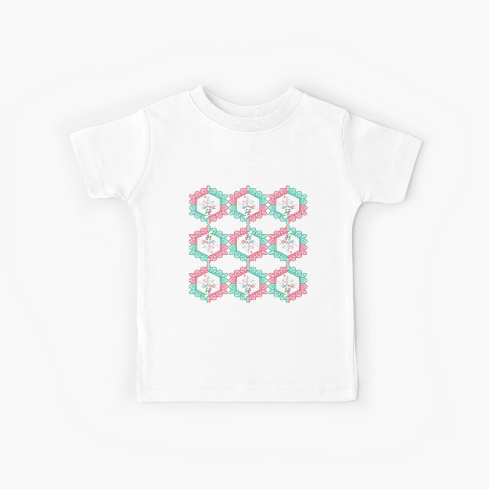 Embroidery, Motif, Visual arts Kids T-Shirt