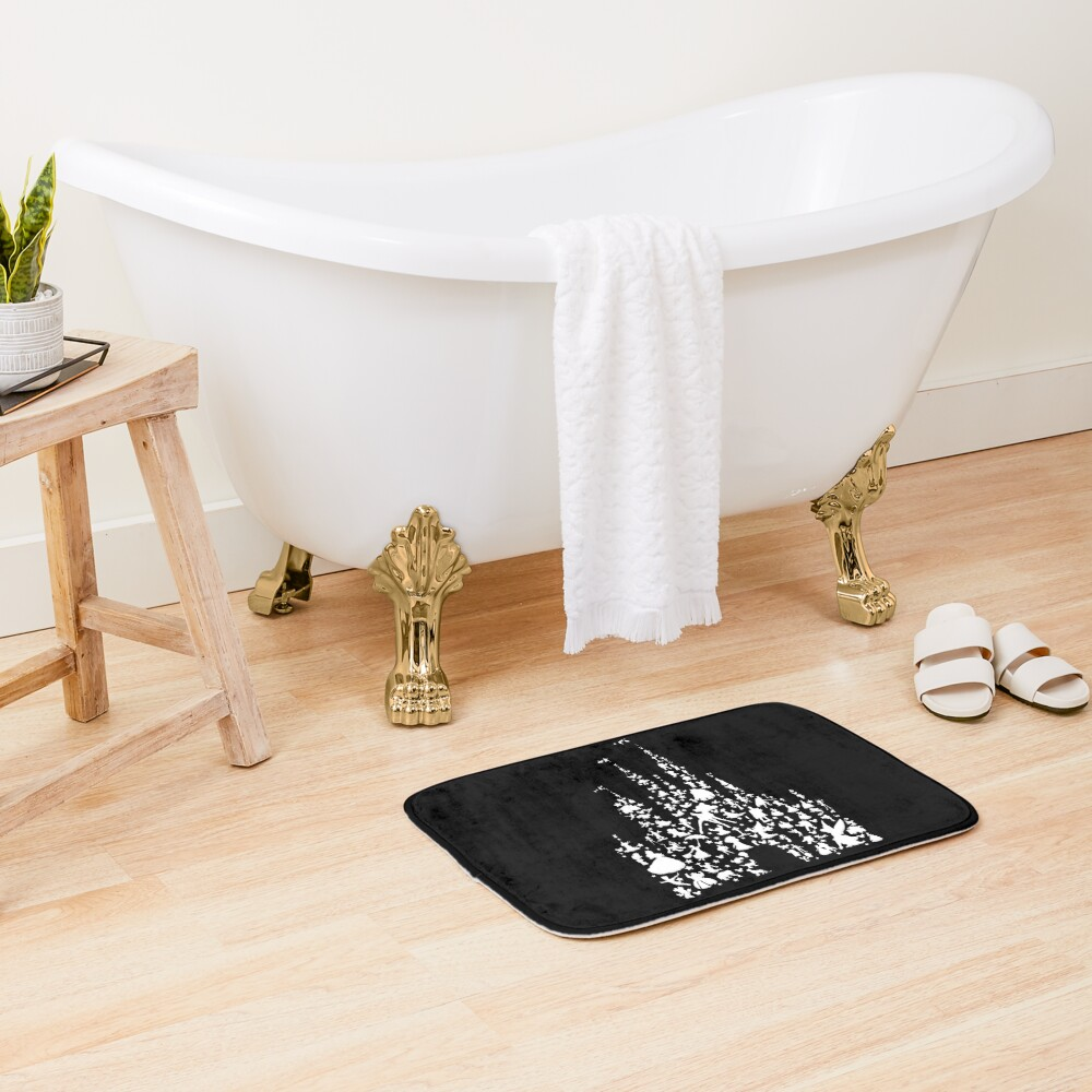 Happiest Castle On Earth Inverted Bath Mat
