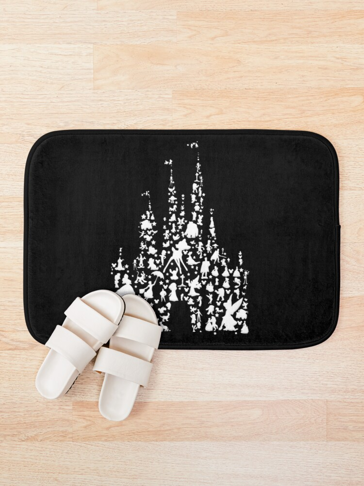 Alternate view of Happiest Castle On Earth Inverted Bath Mat
