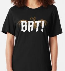 """What We Do In The Shadows - """"Bat!"""" Slim Fit T-Shirt"""