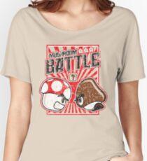 Mushroom Battle Women's Relaxed Fit T-Shirt