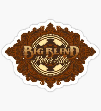 BIG BLIND Sticker
