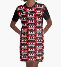 Tape Graphic T-Shirt Dress