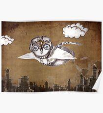 """Birdman in the City"" Poster"