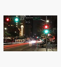 Historic Paramount Theater in  Downtown Austin, Texas  Photographic Print