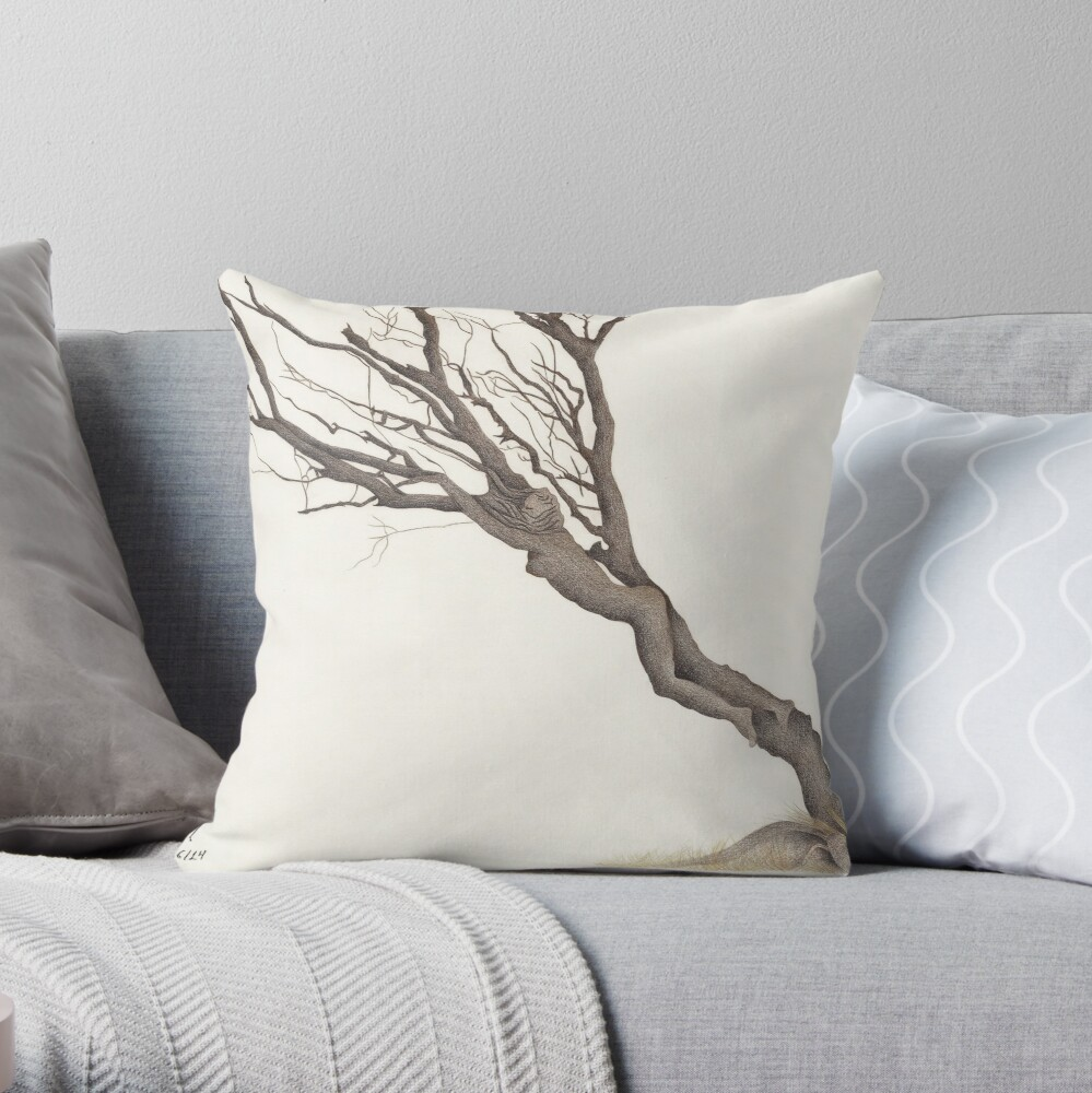 Hostage of oblivion Throw Pillow