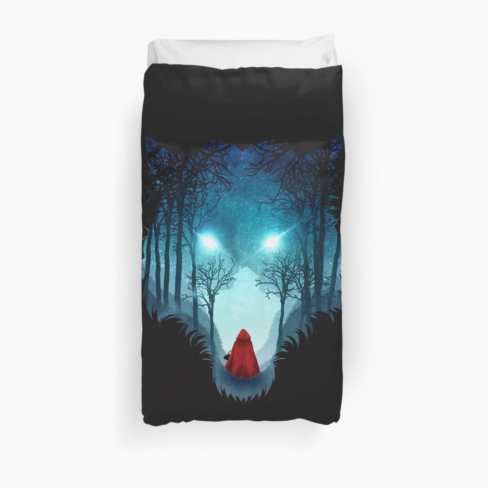Großer böser Wolf (dunkle Version) Bettbezug