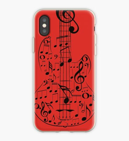 Gitarre und Musik Notes7 iPhone-Hülle & Cover