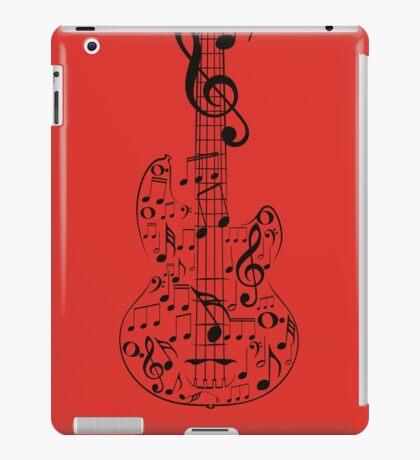 Gitarre und Musik Notes7 iPad-Hülle & Klebefolie