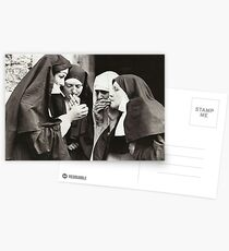Nuns Smoking Postcards