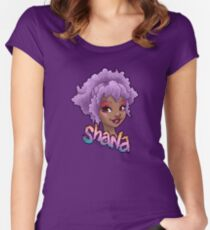Shana - Jem and the Holograms Women's Fitted Scoop T-Shirt